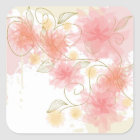 Delicate flowers stickers