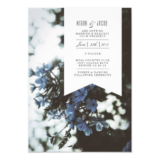 Delicate Flowers | Wedding Invitation