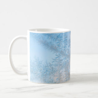 Delicate frost pattern, Wisconsin Coffee Mug