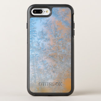 Delicate frost pattern, Wisconsin OtterBox Symmetry iPhone 7 Plus Case