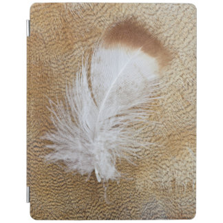 Delicate Goose Feathers iPad Cover