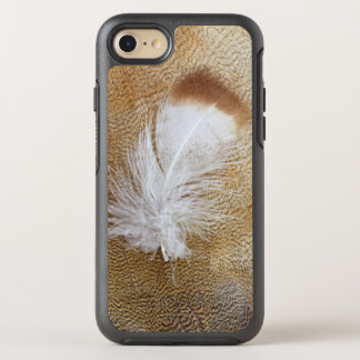Delicate Goose Feathers OtterBox Symmetry iPhone 8/7 Case