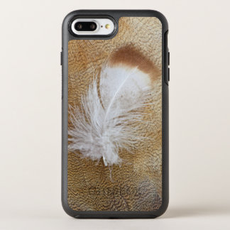 Delicate Goose Feathers OtterBox Symmetry iPhone 8 Plus/7 Plus Case