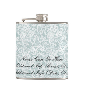 Delicate Lace Hip Flask