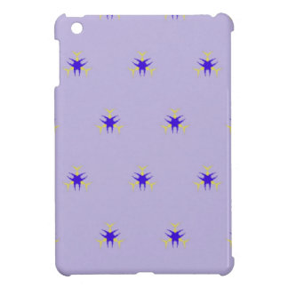 Delicate  lavender Purple Burst Pattern Case For The iPad Mini