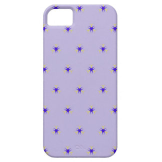Delicate  lavender Purple Burst Pattern iPhone 5 Cover