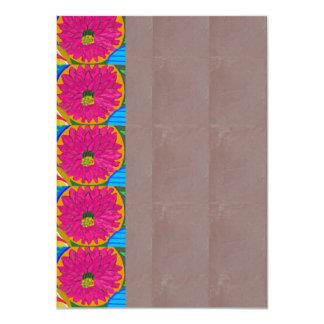 "DELICATE Paper Invitation: OPTION 7 style PAPERS 4.5"" X 6.25"" Invitation Card"