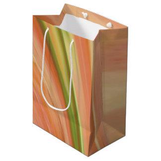Delicate Peach Medium Gift Bag