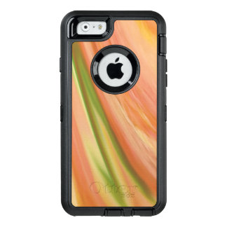 Delicate Peach OtterBox Defender iPhone Case