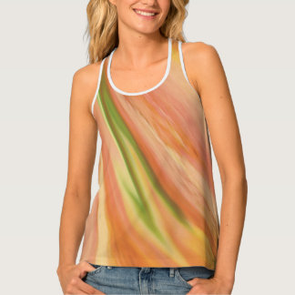 Delicate Peach Tank Top
