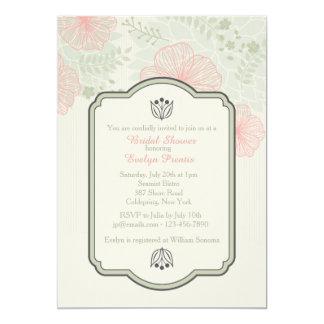 Delicate Petals Invitation