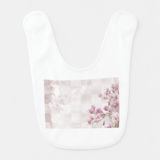 Delicate Pink Baby Girl  Clothing Bib
