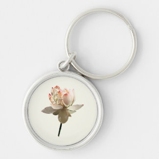 Delicate Pink Lotus Keychain