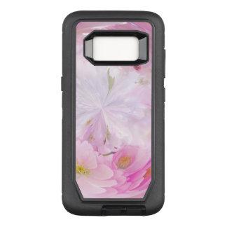 Delicate Pink White Flower Custom Cell Phone Case