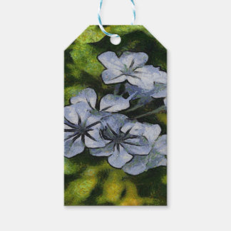 Delicate Plumbago Gift Tags
