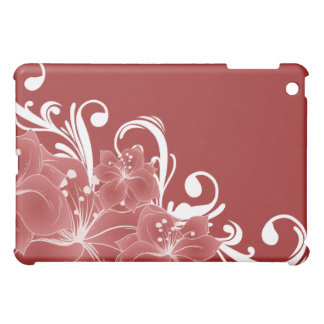 Delicate Red Flowers  iPad Mini Cases