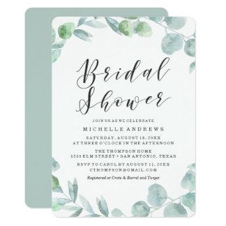 Delicate Wreath | Bridal Shower Invitation