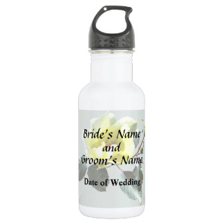 Delicate Yellow Rose 532 Ml Water Bottle