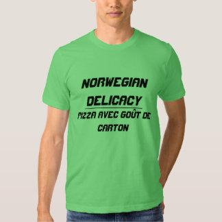 Délicatesse norvégienne t-shirts