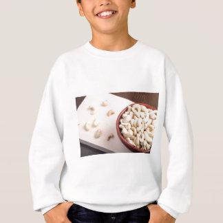 Delicious and healthy raw cashew nuts sweatshirt