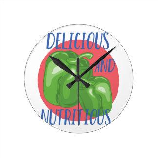 Delicious And Nutritious Wallclocks