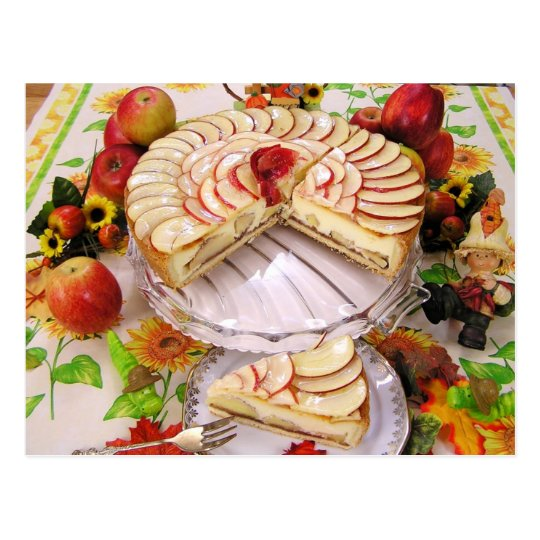 Delicious Apple Pie Postcard