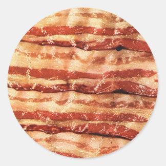 Delicious BACON goodness Round Sticker