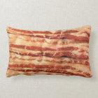 Delicious BACON pillow!! Lumbar Pillow