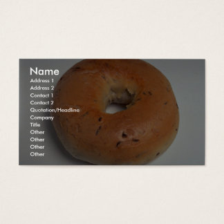 Delicious Bagel Business Card