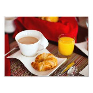 Delicious breakfast card