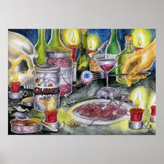 Delicious Calabrese Poster