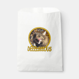 Delicious Cat Pet Kitty Favor Bags