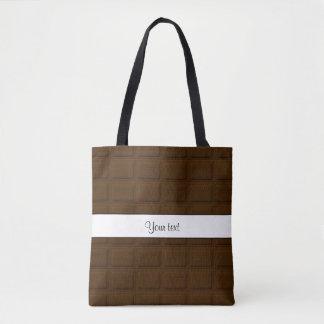 Delicious Chocolate Squares Tote Bag