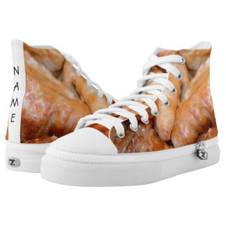 Delicious classic french croissants photograph high tops