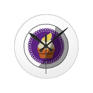Delicious cup cake wallclock