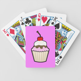 Delicious Cupcake Bicycle Playing Cards