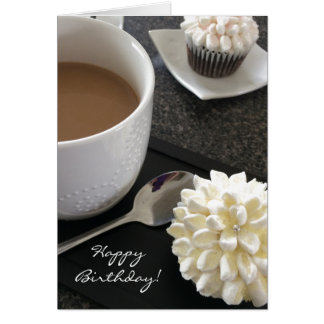 Delicious Cupcakes and Coffee Card