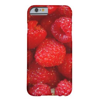 Delicious cute dark pink raspberry photograph barely there iPhone 6 case