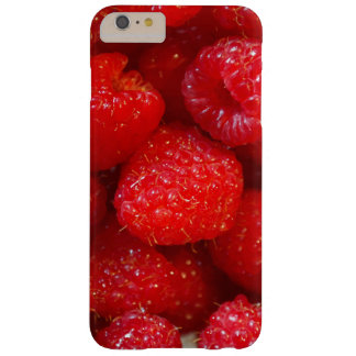 Delicious cute dark pink raspberry photograph barely there iPhone 6 plus case