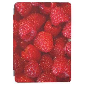 Delicious cute dark pink raspberry photograph iPad air cover