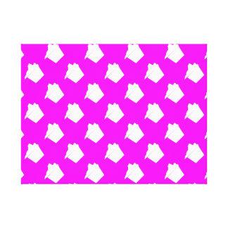 Delicious Cute Pink Cupcake Canvas Print