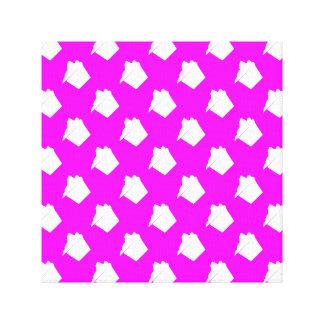 Delicious Cute Pink Cupcake Canvas Prints