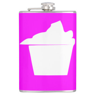 Delicious Cute Pink Cupcake Flasks