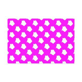 Delicious Cute Pink Cupcake Gallery Wrap Canvas