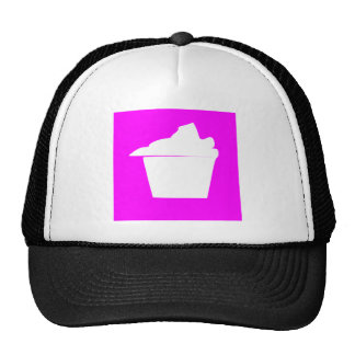 Delicious Cute Pink Cupcake Trucker Hat