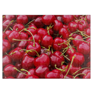 delicious cute red cherry fruits photograph boards