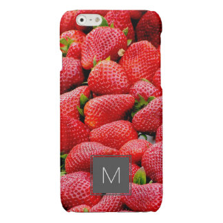 delicious dark pink strawberries photograph