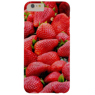 delicious dark pink strawberries photograph barely there iPhone 6 plus case
