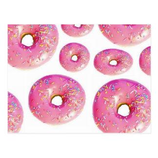 Delicious Donuts. Postcard