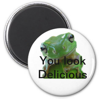 Delicious Frog Magnet